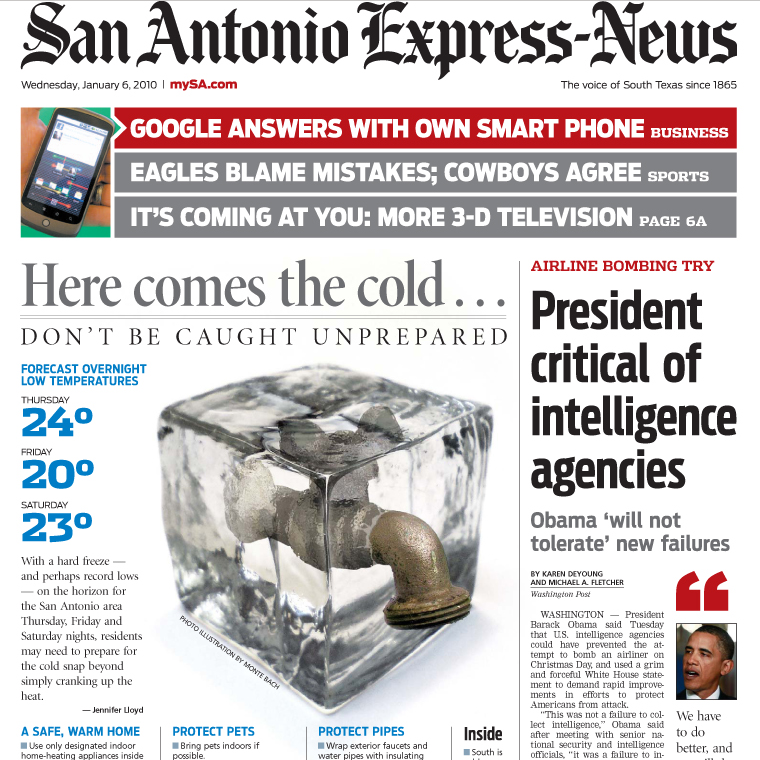 PERM Advertising San Antonio Express-News