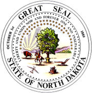 Official Seal of the State of North Dakota